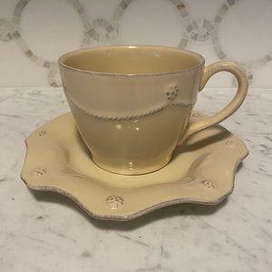 RARE Juliska Berry &Thread Cup/Saucer Set 12 Avail
